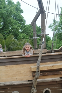 LIesl and the Pirate Ship